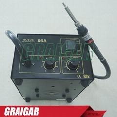 Solder Station 220V AOYUE 868 Repairing System Hot Air SMD Soldering Iron
