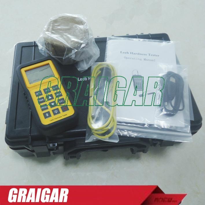 Portable digital Leeb Hardness Tester meter metal durometer LM100 4