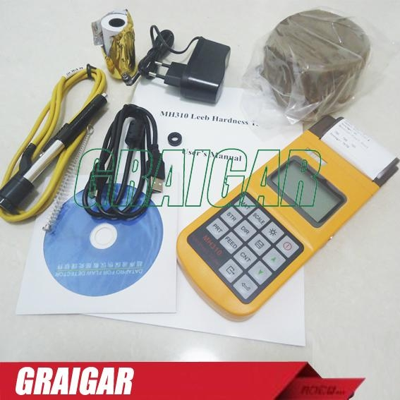 Portable Leeb Hardness Tester MH310 3