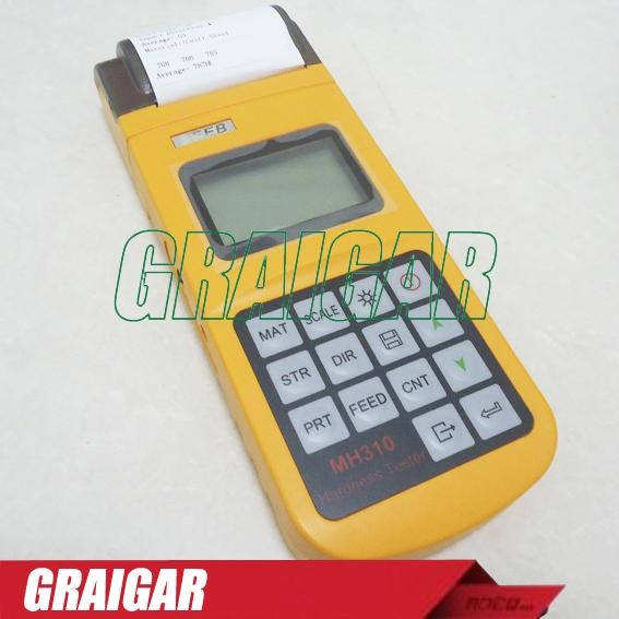 Portable Leeb Hardness Tester MH310 5