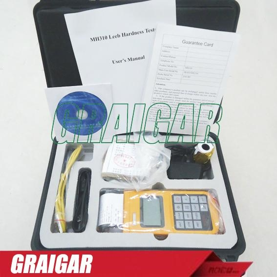 Portable Leeb Hardness Tester MH310 1