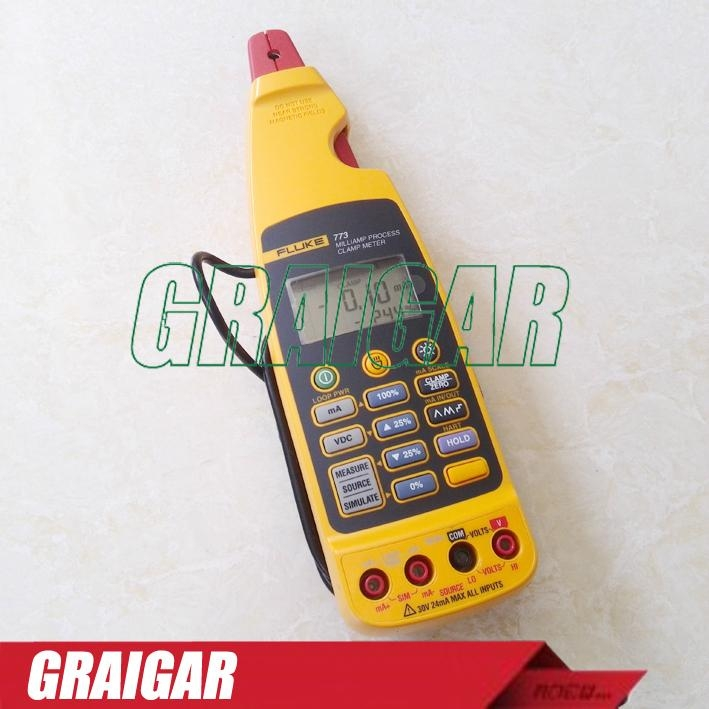 High accuracy Digital Clamp meter Fluke 773 Voltage Source Calibration Loop 1