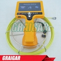 Handheld Sewer Survey Video Drain Inspection Camera System Video Recording