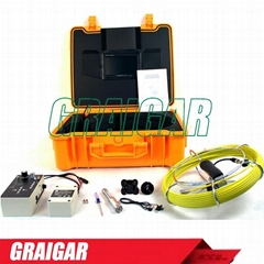 DVR Record & Locator Function Sewer Pipe Inspection Equipment Camera 512Hz Sonde