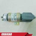 Fuel Shutoff Solenoid for Yanmar 1751ES-12E7U1B1S5