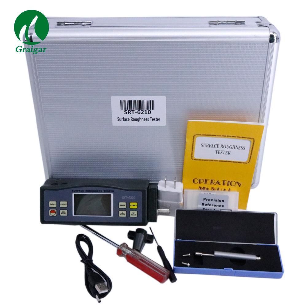 SRT-6210 Surface Roughness Tester 4 Parameters:Ra, Rz, Rq, Rt Testing 7