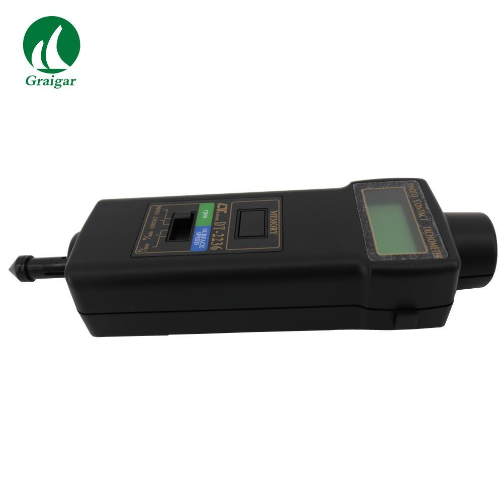 DT-2236 Tachometer Rotative Velocity Tester 2.5~99,999r/min 4