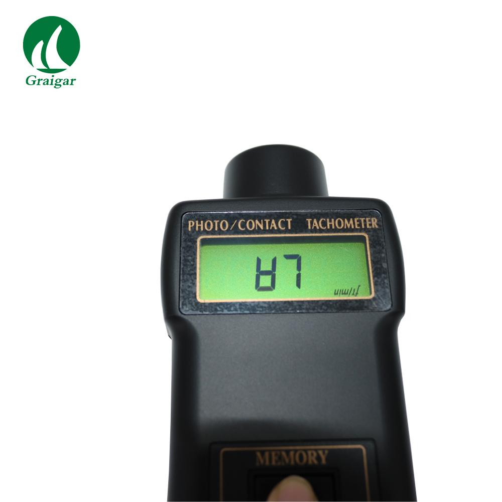 DT-2236 Tachometer Rotative Velocity Tester 2.5~99,999r/min 8
