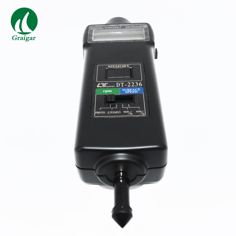 DT-2236 Tachometer Rotative Velocity Tester 2.5~99,999r/min 10