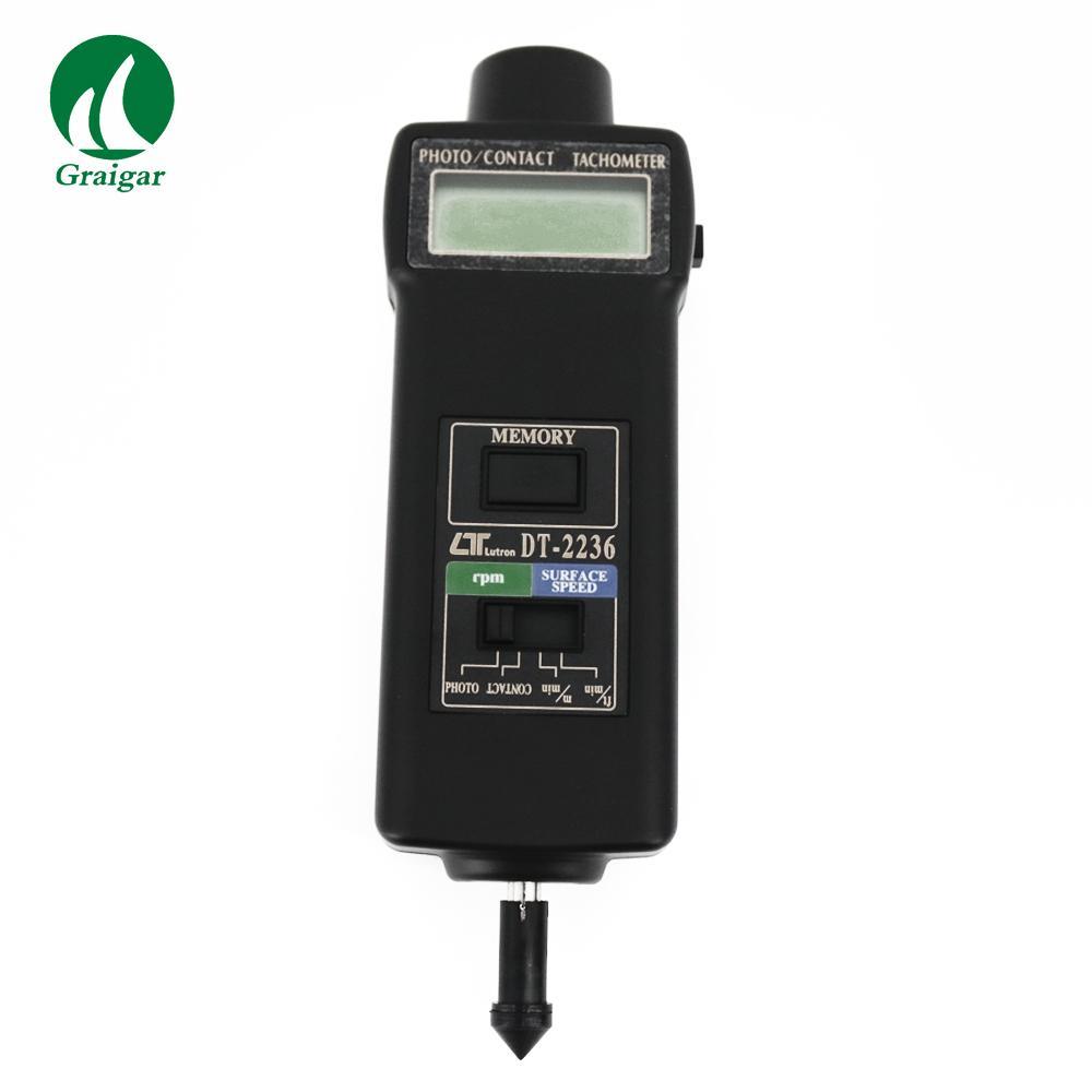 DT-2236 Tachometer Rotative Velocity Tester 2.5~99,999r/min 1