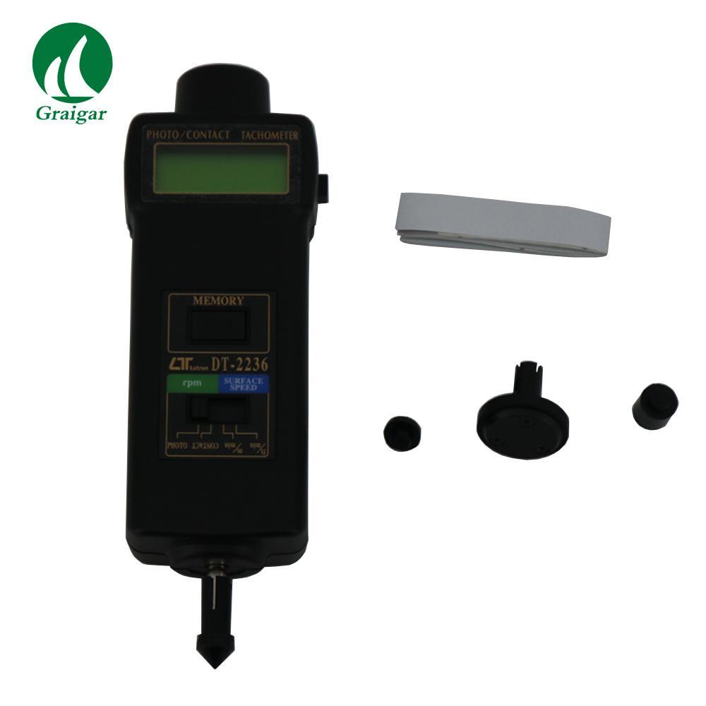 DT-2236 Tachometer Rotative Velocity Tester 2.5~99,999r/min 11