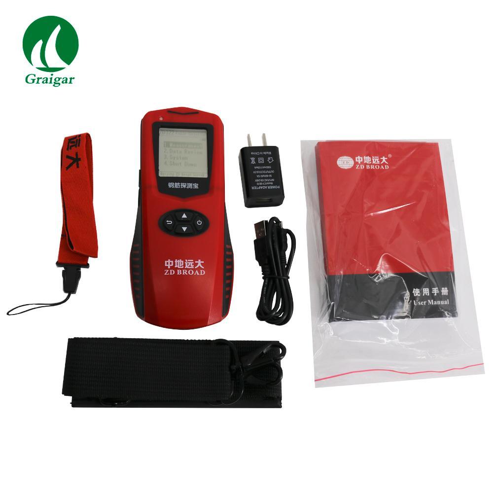 ZD322 Rebar Scanner  Steel Detector Measure the Position of the Steel Bar 1