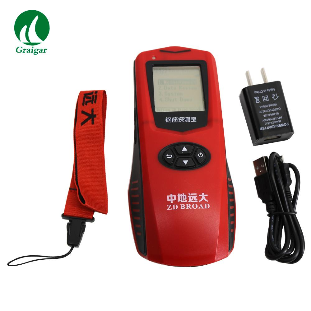 ZD322 Rebar Scanner  Steel Detector Measure the Position of the Steel Bar 9