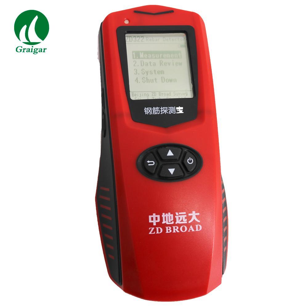 ZD322 Rebar Scanner  Steel Detector Measure the Position of the Steel Bar 6