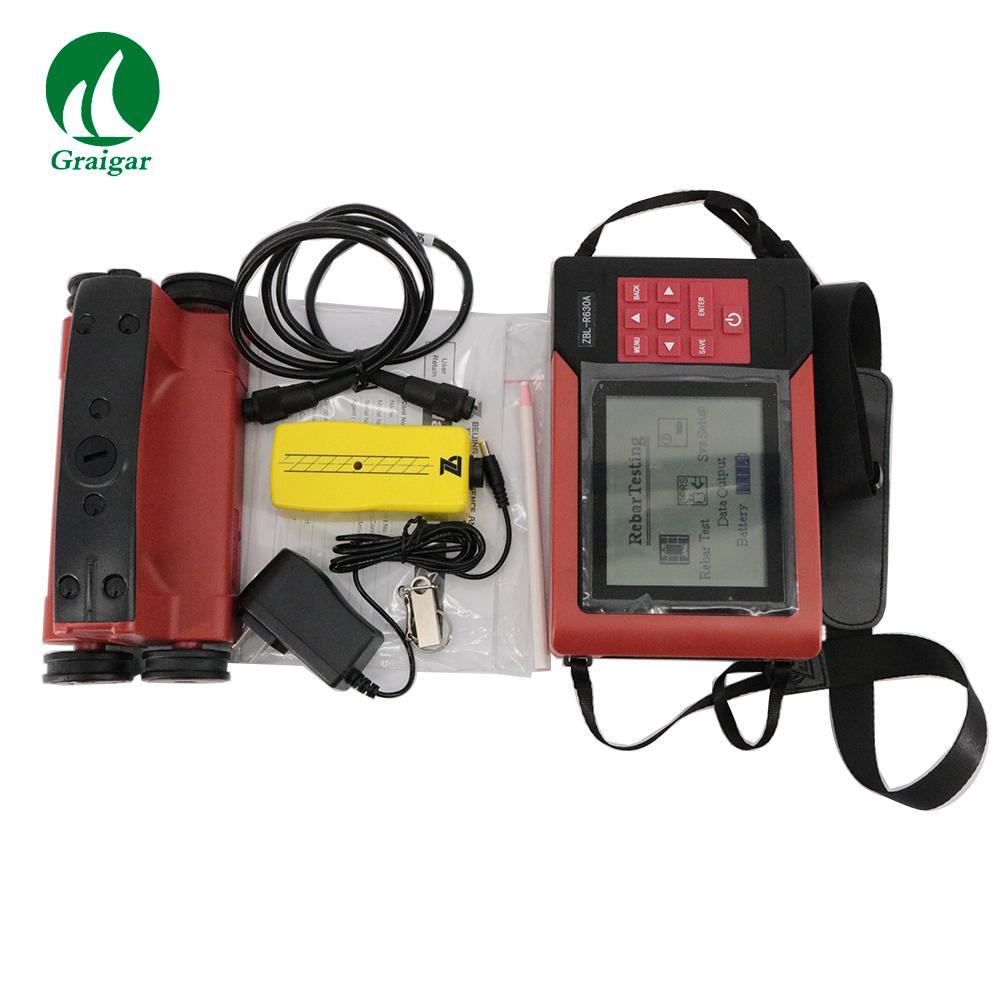 ZBL-R630A Concrete Reinforcement Tester Applicable range 6mm~50mm 4