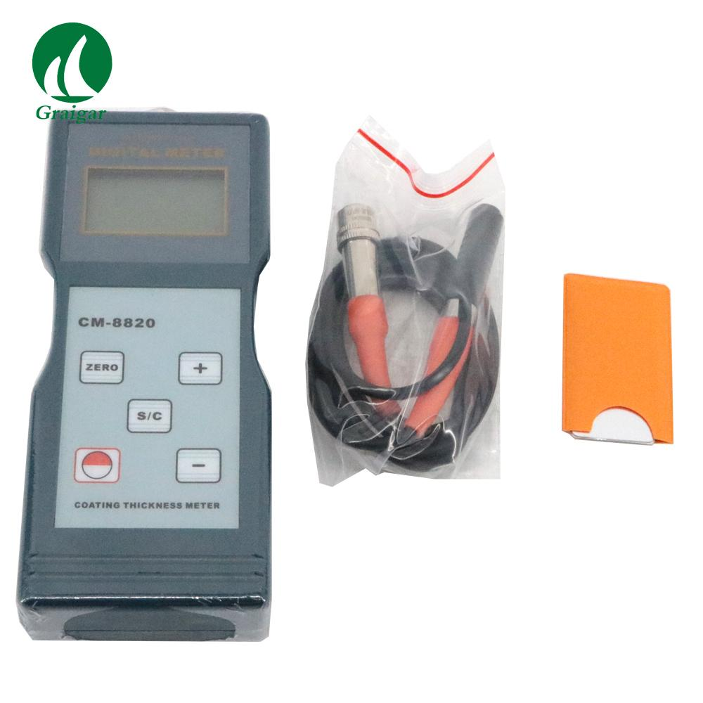 CM-8820 Digital Coating Thickness Gauge(F Type) 0 ~ 2000 / 0 ~ 80 mil 2