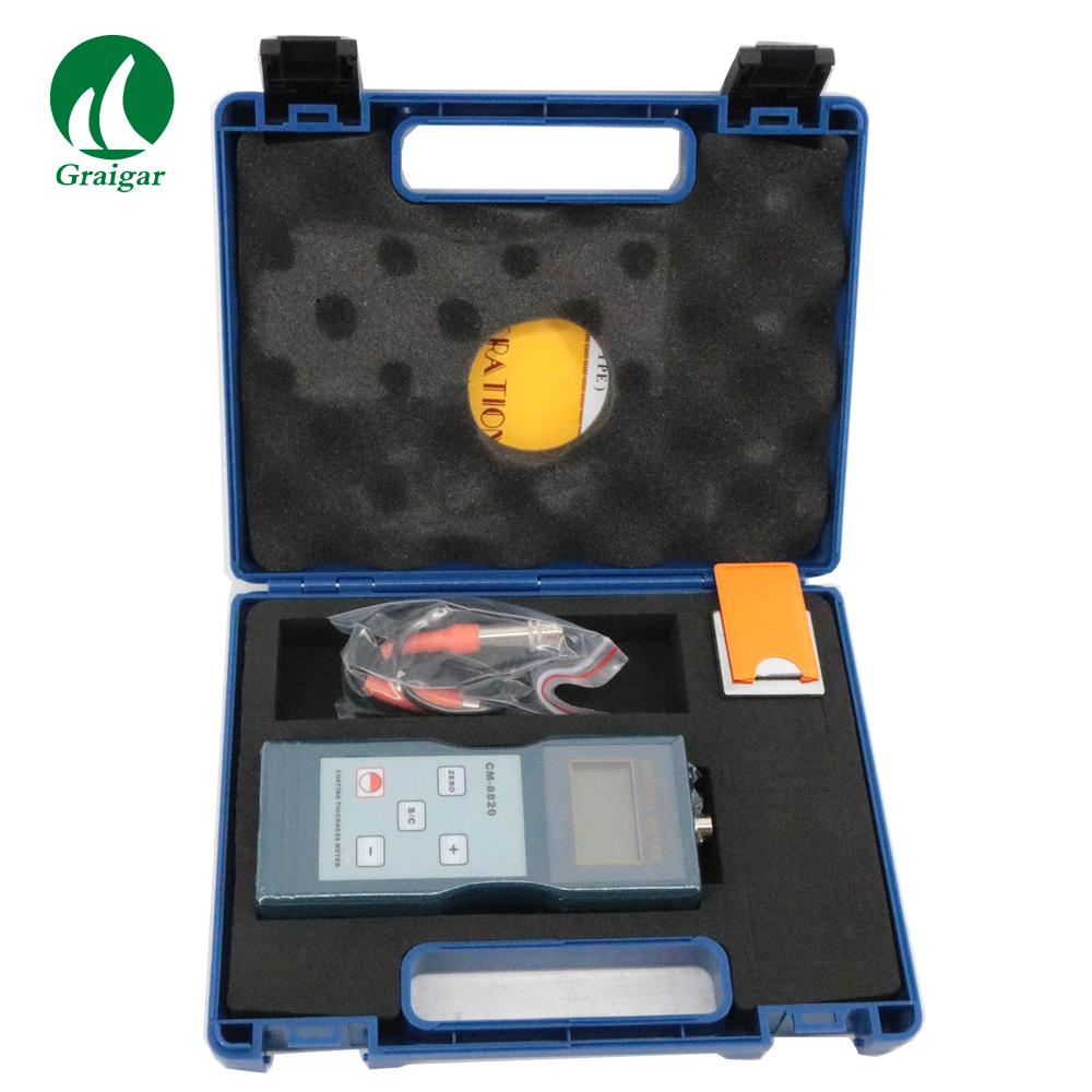 CM-8820 Digital Coating Thickness Gauge(F Type) 0 ~ 2000 / 0 ~ 80 mil 1