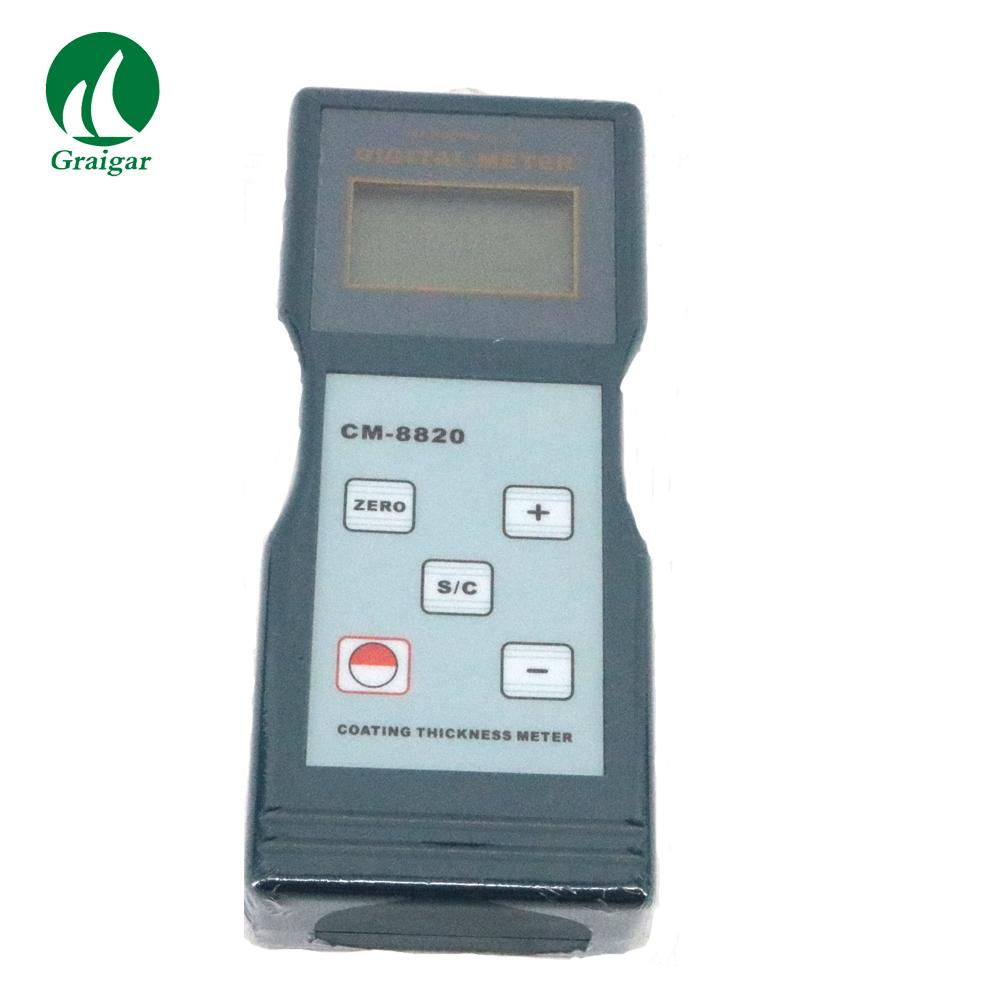 CM-8820 Digital Coating Thickness Gauge(F Type) 0 ~ 2000 / 0 ~ 80 mil 8