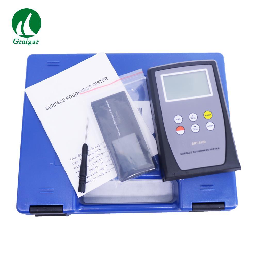 SRT-6100 Digital Surface Roughness Tester Multiple Parameter Measurement Ra Rz 7