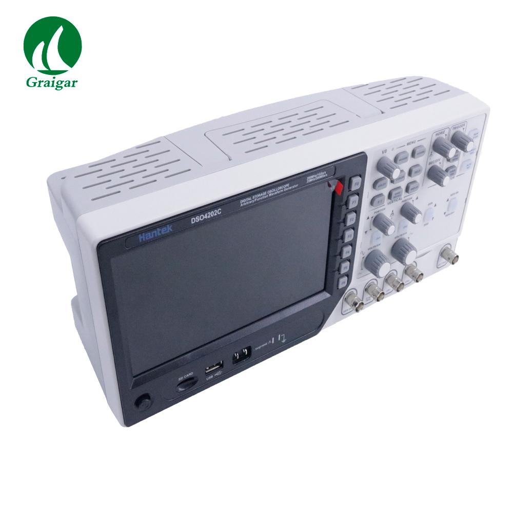 DSO4202C 2 Channel Digital Oscilloscope Arbitrary/Function Waveform Generator 6