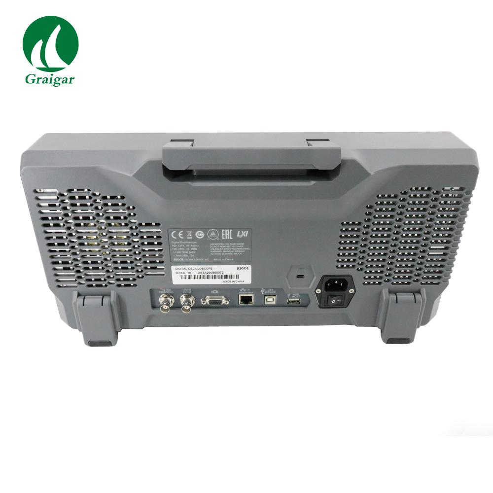 DS4024 200MHz Digital Oscilloscope 4 Analog Channels 200MHz Bandwidth 12