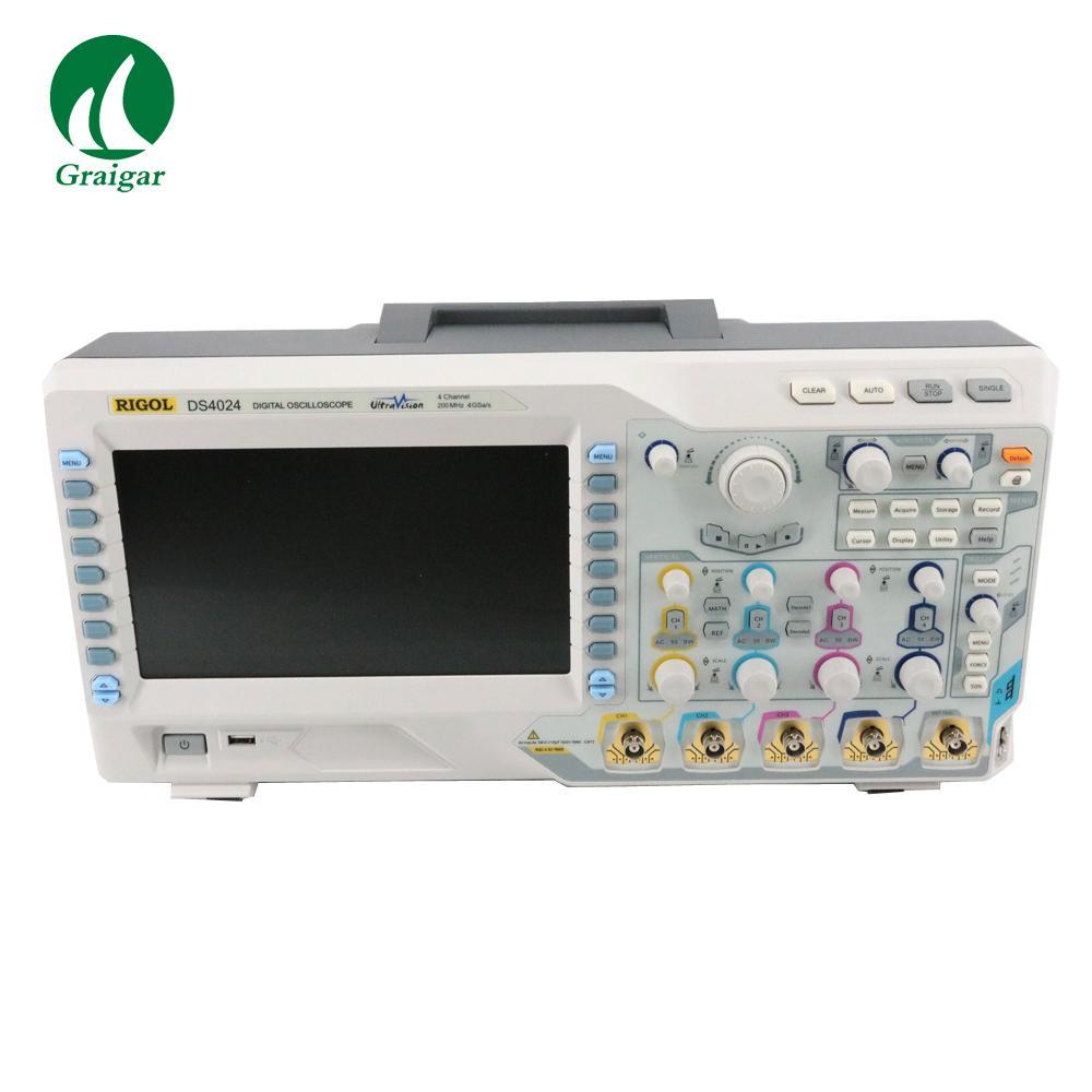DS4024 200MHz Digital Oscilloscope 4 Analog Channels 200MHz Bandwidth 5