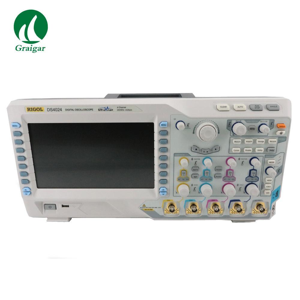 DS4024 200MHz Digital Oscilloscope 4 Analog Channels 200MHz Bandwidth 6