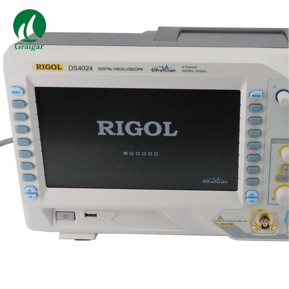 DS4024 200MHz Digital Oscilloscope 4 Analog Channels 200MHz Bandwidth 8