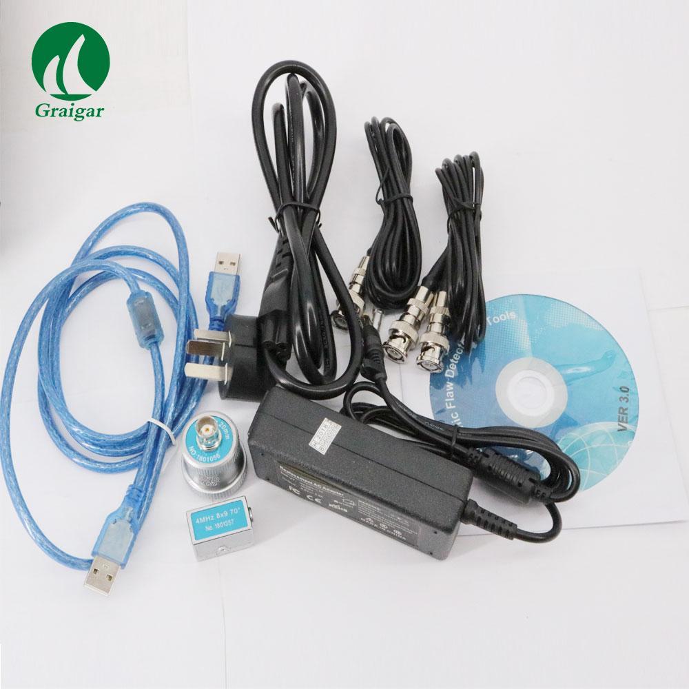 GR650 Ultrasonic Flaw Detector 0 mm-10000 mm Range Single/Dual/Thru Mode 6