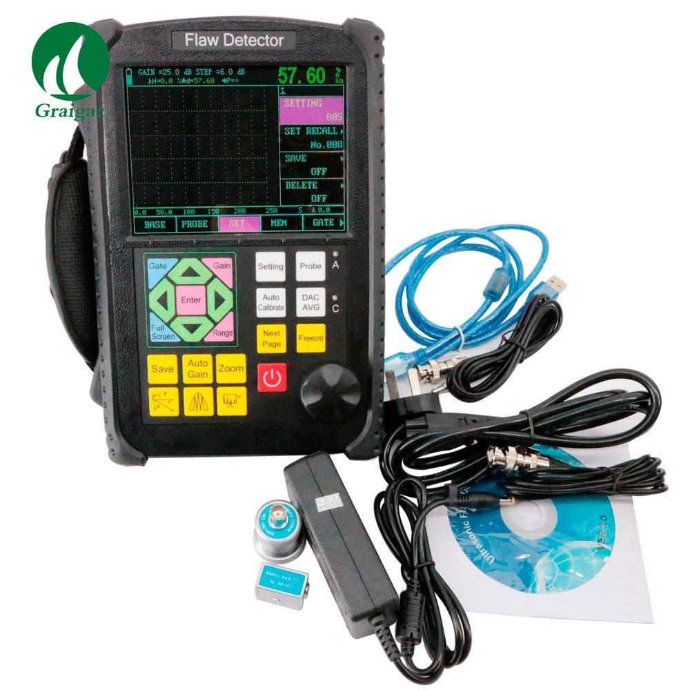 GR650 Ultrasonic Flaw Detector 0 mm-10000 mm Range Single/Dual/Thru Mode 2