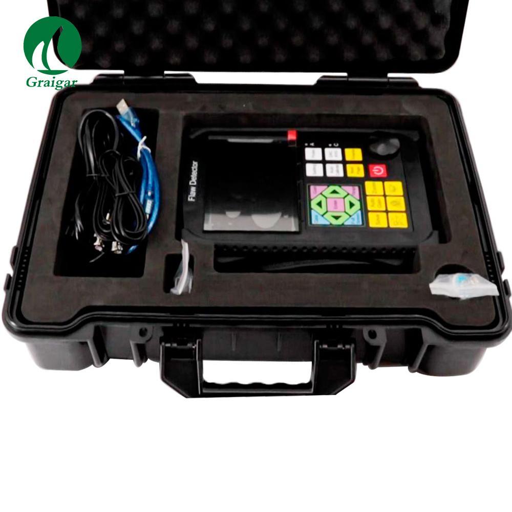 GR650 Ultrasonic Flaw Detector 0 mm-10000 mm Range Single/Dual/Thru Mode 12