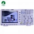XDS3204E Touchscreen Digital Oscilloscope Bandwidth 200MHz Sample Rate 1GS/s 9