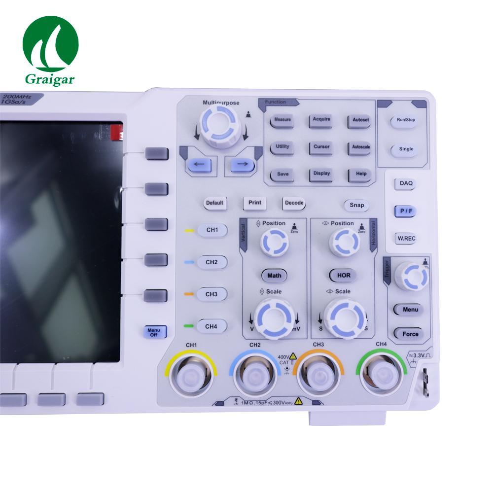 XDS3204E Touchscreen Digital Oscilloscope Bandwidth 200MHz Sample Rate 1GS/s 10