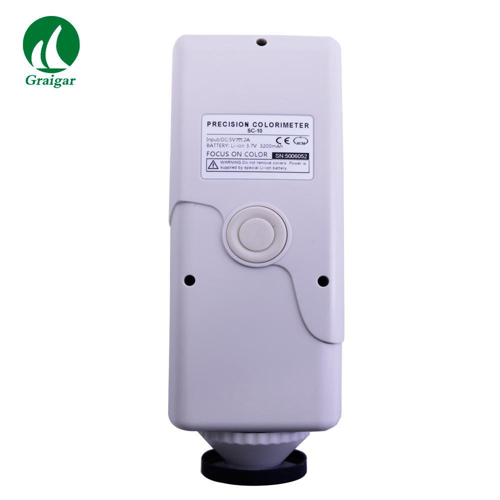 SC-10 Portable Colorimeter Difference Meter 4mm Measuring Diameter 3
