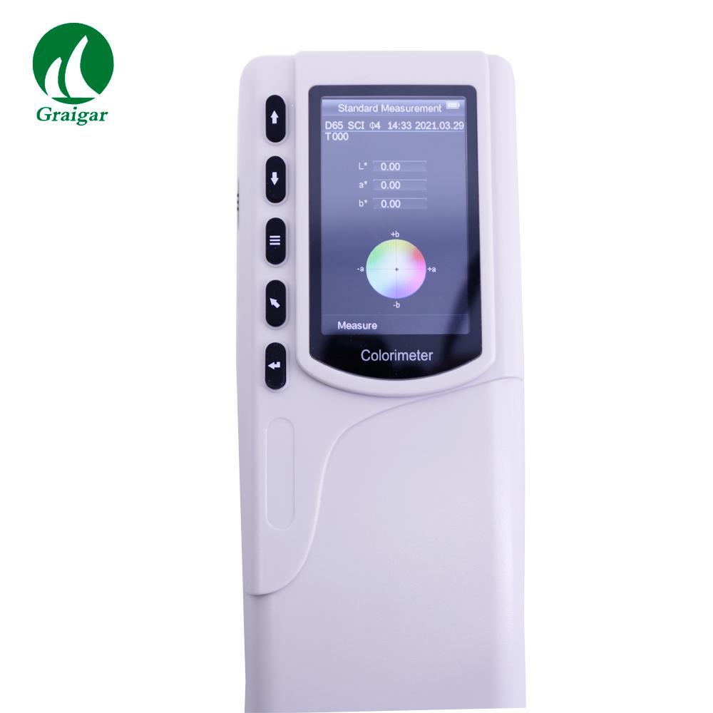 SC-10 Portable Colorimeter Difference Meter 4mm Measuring Diameter 10