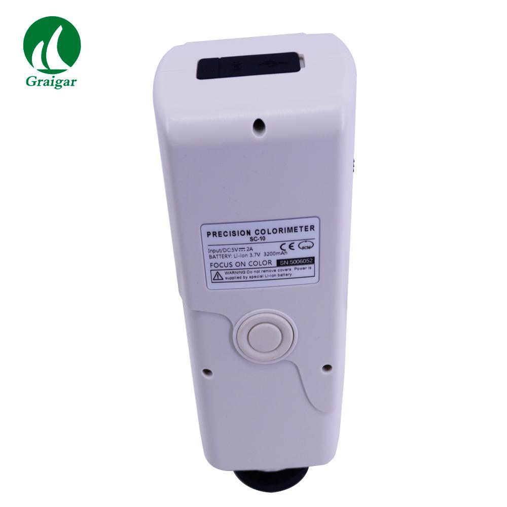 SC-10 Portable Colorimeter Difference Meter 4mm Measuring Diameter 11