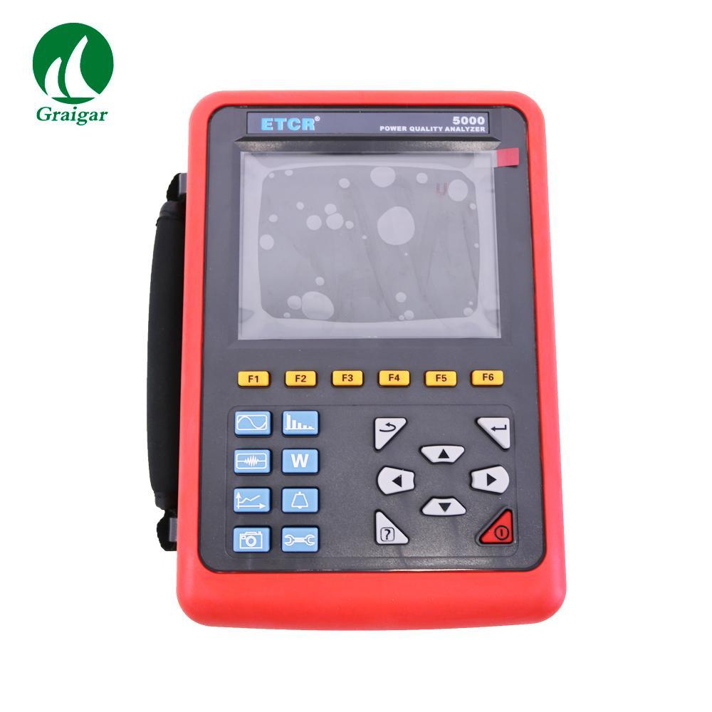 ETCR5000 Power Quality Analyzer 3 Phase Multi-functional Power Quality Monitor 4