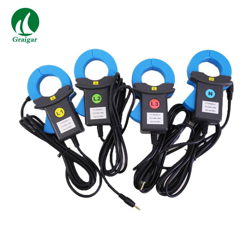ETCR5000 Power Quality Analyzer 3 Phase Multi-functional Power Quality Monitor 6
