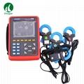 ETCR5000 Power Quality Analyzer 3 Phase Multi-functional Power Quality Monitor 1