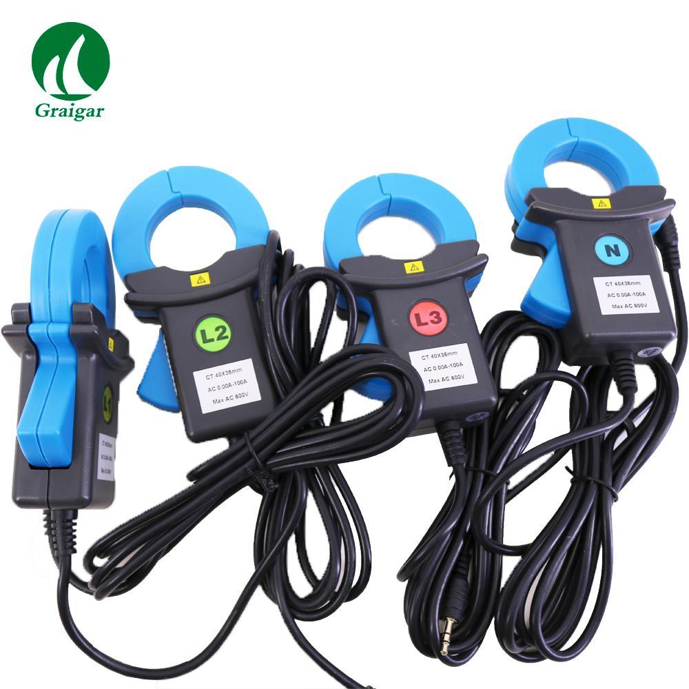 ETCR5000 Power Quality Analyzer 3 Phase Multi-functional Power Quality Monitor 11