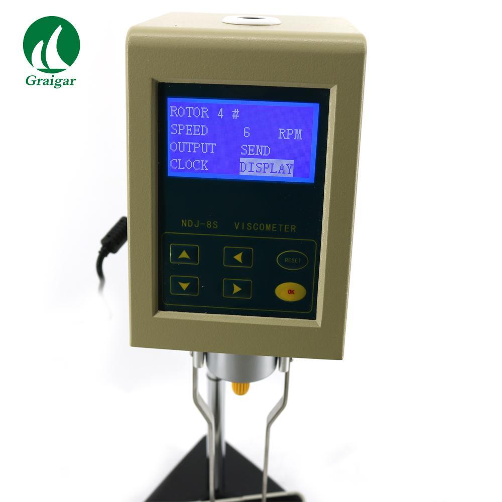 High Precision NDJ-8S Digital Display Viscosity Meter Rotary Viscometer 3