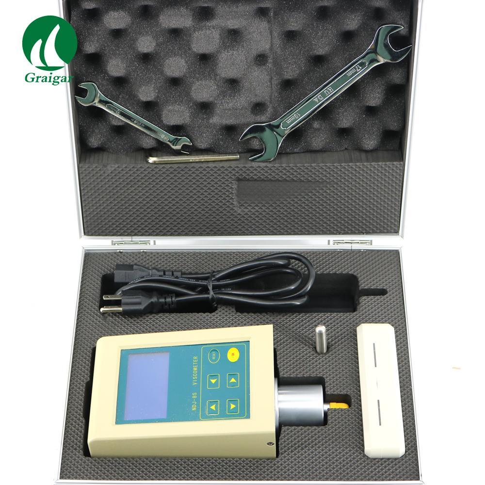 High Precision NDJ-8S Digital Display Viscosity Meter Rotary Viscometer 9