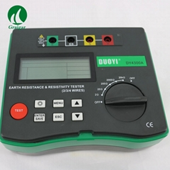 DY4300A Digital Insulation Resistance Tester Earth Ground Resistance Tester