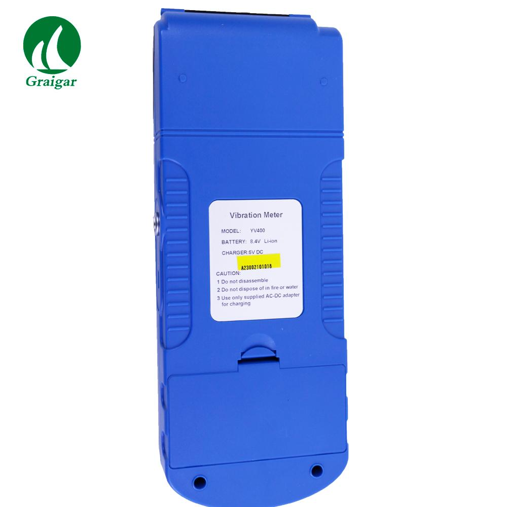 YV400 Portable Vibrometer Vibration Tester with Integrated Thermal Printer 4