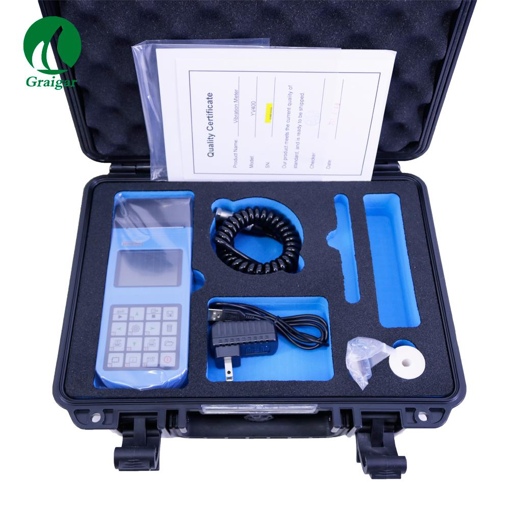 YV400 Portable Vibrometer Vibration Tester with Integrated Thermal Printer 1