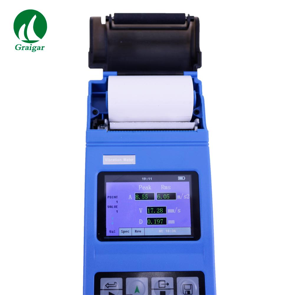 YV400 Portable Vibrometer Vibration Tester with Integrated Thermal Printer 6