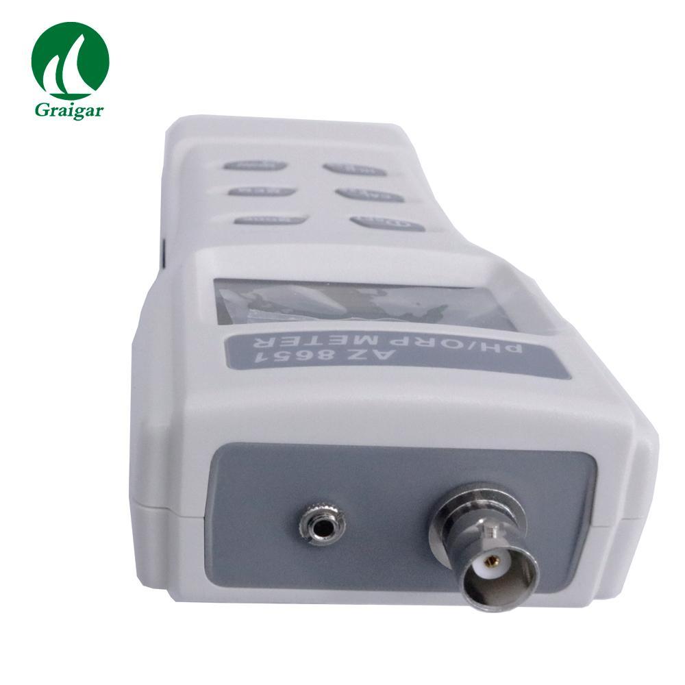 AZ8651 Handheld PH Meters PH Tester Digital ORP Meter Range PH: 0.00 ~ 14.00 7