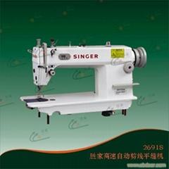 高速自動剪線平縫機