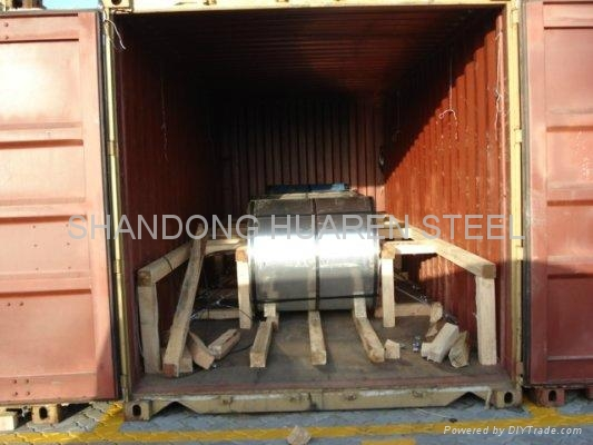 Prepainted galvanized Steel Coil (PPGL STEEL COIL) 4