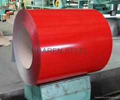 Prepainted Galvanized Steel Coils (PPGI Steel)